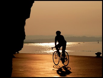 amanece pedaleando