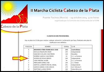 201141019 II Marcha Ciclista Cabezo de  la Plata